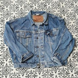 Vintage Oversized Levi's Denim Jacket size Medium